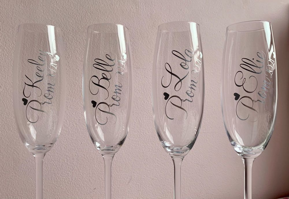 Customised Prom / Special Occasion Glass