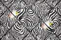 Large 60x40cm Animal Zebra Print Hand Crafted Fabric Notice / Pin / Memo / Memory Board
