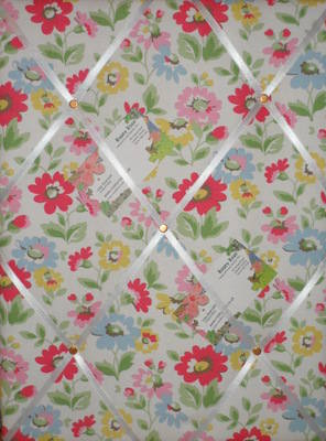 Medium Cath Kidston Prairie Hand Crafted Fabric Notice / Pin / Memo Board
