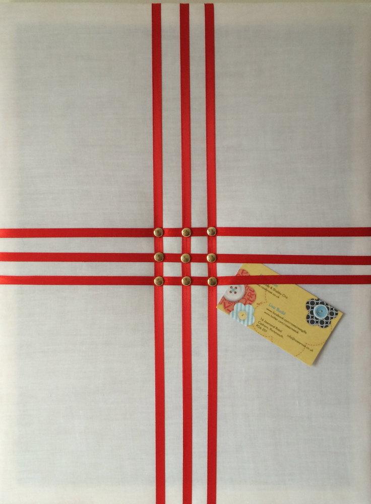 Medium 40x30cm White & Red England St George's Flag World Cup Brazil Footba