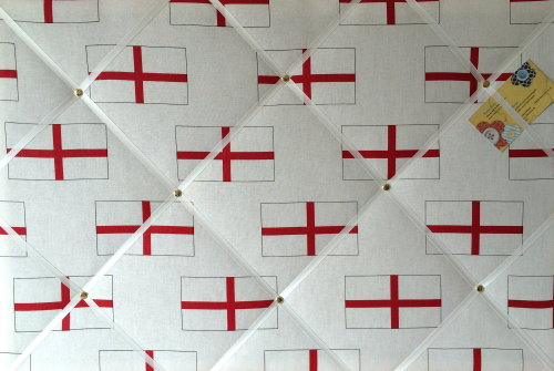 Large 60x40cm White & Red England Multiple St George's Flag World Cup Brazi