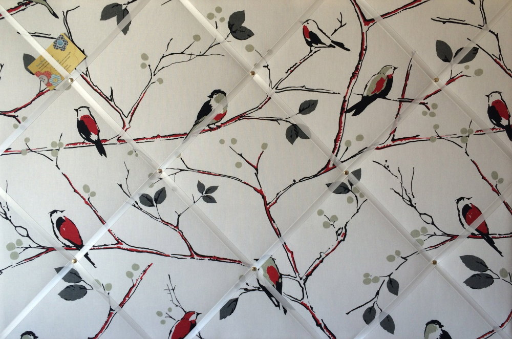 Extra Large 90x60cm Prestigious Berkeley Square Bird Hand Crafted Fabric No