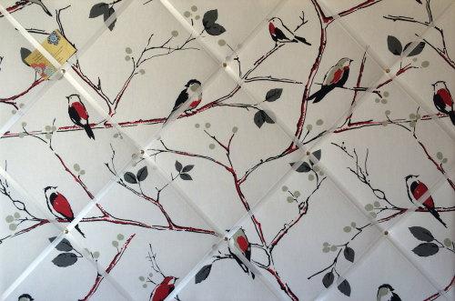 Extra Large 90x60cm Prestigious Berkeley Square Bird Hand Crafted Fabric No