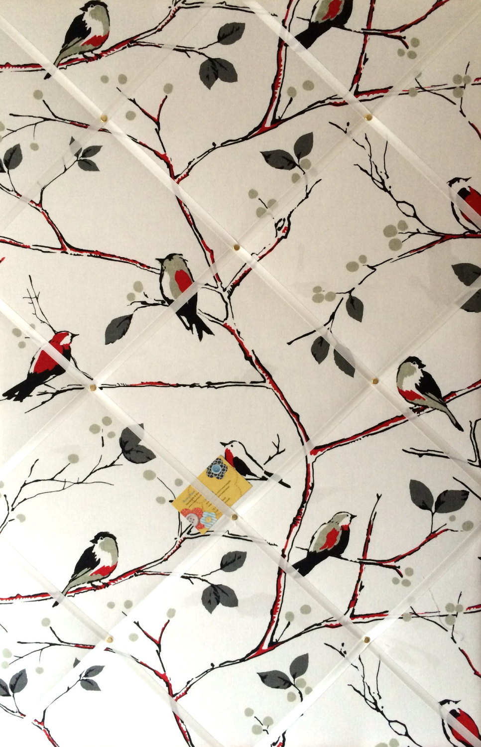 Extra Large 90x60cm Prestigious Berkeley Square Bird Vertical Hand Crafted