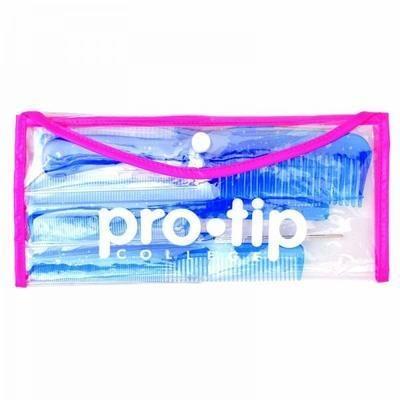 Pro-Tip College Comb Wallet Blue
