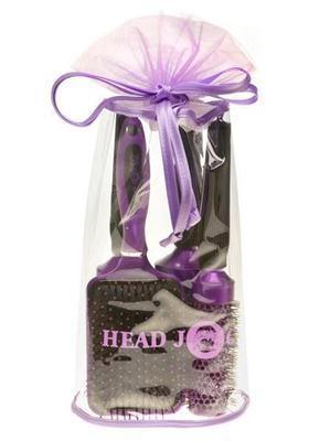 Head Jog Purple Brush Set