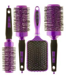 Head Jog 89 Purple Radial Brush 43mm