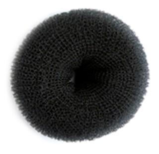 10cm Premium Synthetic Bun - Black