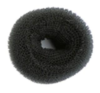 8cm Premium Synthetic Bun - Black