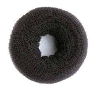 9cm Premium Synthetic Bun - Black