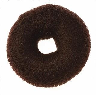 9cm Synthetic Bun - Brown