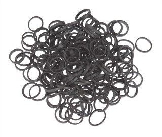 Elastic Bands - Black 15mm