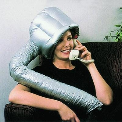 Portable Dryer Hood Silver