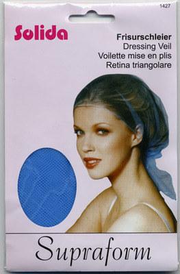 Solida Supraform Hair Net Blue (x 1)