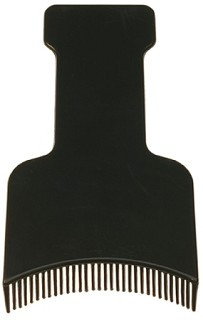 Toothed Highlighting Paddle - Black