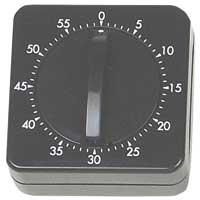 Mechanical Timer - 60Min - Black