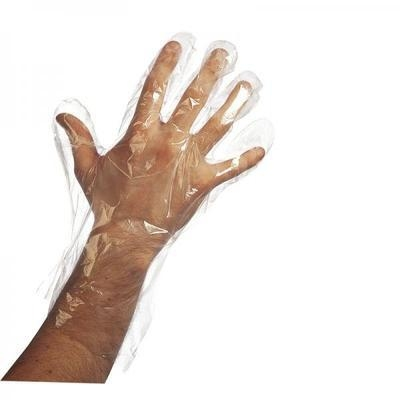 Disposable Poly Gloves x10