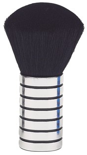 Mini Neck Brush Silver
