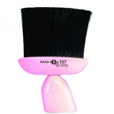 Head Jog 197 Nouveau Pink Neck Brush
