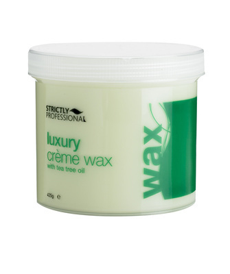 Luxury Crème Wax with Tea Tree Oil