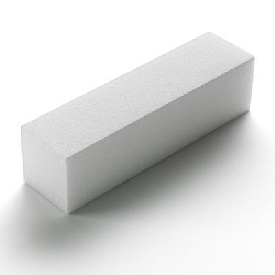 White Sanding Block 4-Way x10