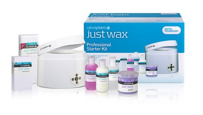 Just Wax Compact Heater Professional Starter Kit