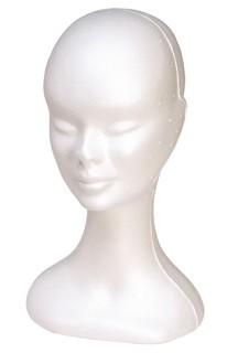 Poly Head - White Female