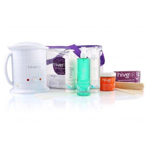 Hive 'No.1' Wax Heater 1 Litre, Warm 'Honey' Kit