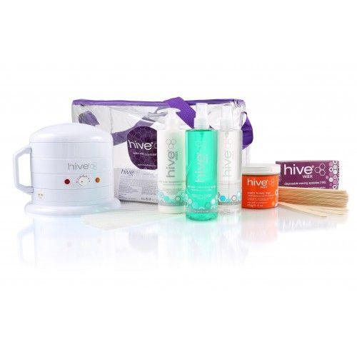 Hive Mini Wax Heater 0.5 Litre, Warm 'Honey' Kit
