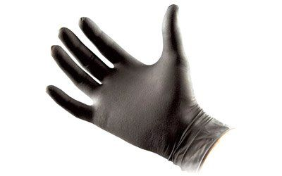 Black Nitrile Gloves Pack of 10