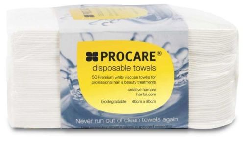 Disposable White Towels (50)