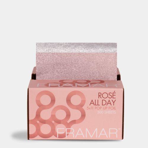 FRAMAR ROSE ALL DAY 5X11 POP UP FOIL (500 SHEETS)