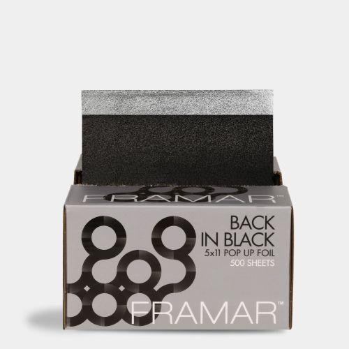 FRAMAR POP UP IN BLACK (5X11)500 PCS