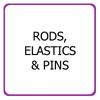 Perm rods, elastics, pins