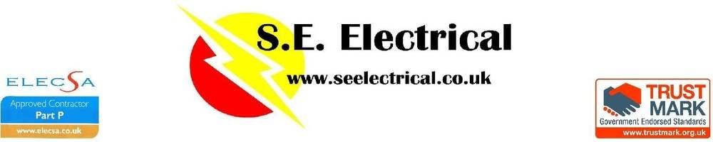 S.E. Electrical, site logo.