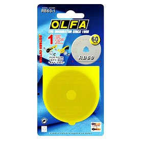 Rotary Cutter Replacement Blade Olfa RB60/1 Spare Blade Pack