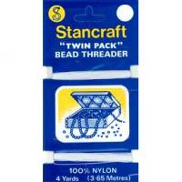 Stancraft Bead Threader Twin Pack, 3.65 Metres