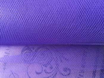 Purple Tutu Net Lightweight Tulle Craft Material