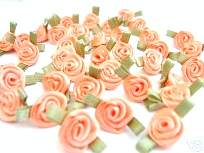 Ribbon Roses Satin Bows