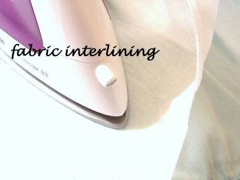 fabric interlining