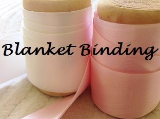Satin Blanket Binding