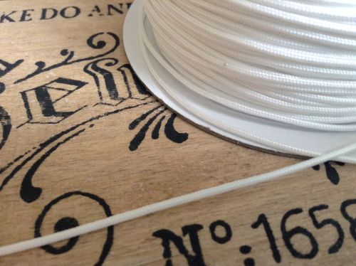 Roman Blind Cord 5m White 1.2mm Festoons Austrian Blinds Light Pulls