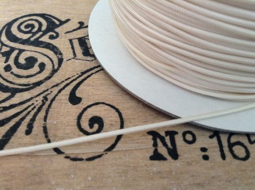 Roman Blind Cord 5m Cream 1.2mm Light Pulls Festoons Austrian Blinds