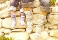 sirdar wool sheep herder socks
