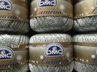 metallic crochet thread