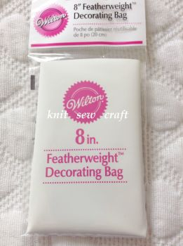 Wilton 8 Inch Piping Bag Featherweight For Icing Cakes Decorating
