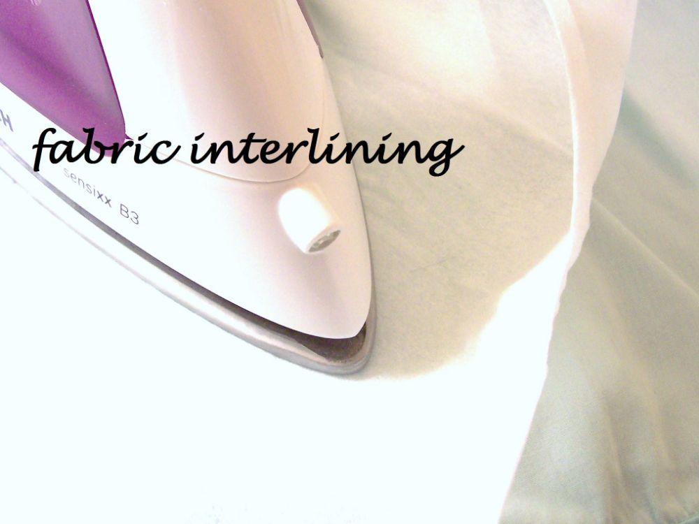 Interfacing Interlining
