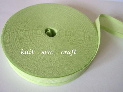 Apple Green Bias Binding Tape