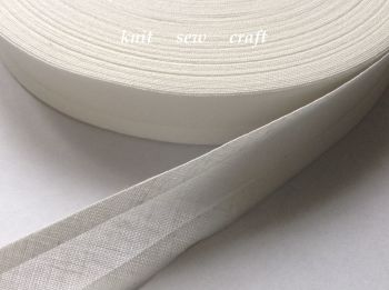 Ivory Trimming Tape 25mm Wide