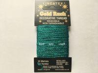 Metallic Sewing Thread - Jade Green